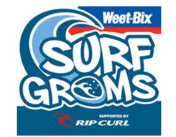 Weet-Bix SurfGroms Logo