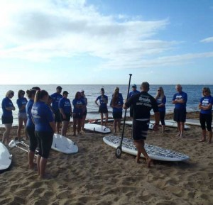 Group and School Surfing on Sunshine Coast