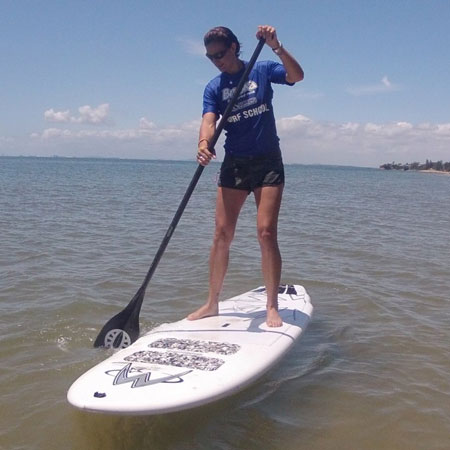 SUP Lessons for Beginners on the Sunshine Coast