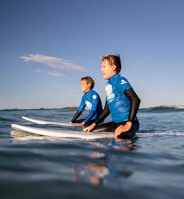 nudie SurfGroms sunshine coast surf school